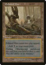 Magic MTG Tradingcard Urza's Saga 1998 Polluted Mire 323/350