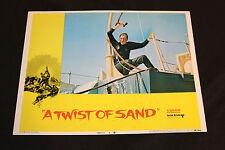 1968 A Twist of Sand Lobby Card 68/294 #4 Honor Blackman (C-7)
