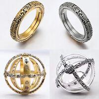Astronomische Kugel Ball Ring Cosmic Finger Ring Couple Lover Gift luckyfine