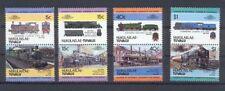 Nukulaelae - Tuvalu Satz 1 Train / Eisenbahn / Loco 100 Leaders of the World **
