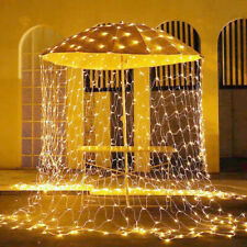 320 LED Fairy String Net Lights Waterproof Garden Party Outdoor Holiday Lighting