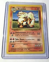ARCANINE - Base Set - 23/102 - Uncommon - Pokemon Card - Unlimited Edition - NM
