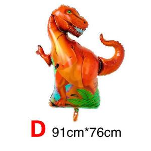 Dinosaur Foil  balloon T-rex triceratops party decoration Dino birthday balloon