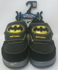 Bonus Black Lace New BATMAN Interchangeable Light-Up Shoes Sneakers Size 11