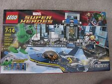 LEGO 6868~MARVEL SUPER HEROES~HULK'S HELICARRIER BREAKOUT~NEW IN BOX