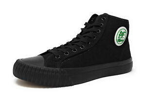PF Flyers Men Women Sandlot Center Hi Shoes MC2001SD - Black/Black