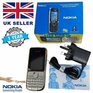 Brand New Nokia C2-01-Gold Unlocked Mobile Phone WARRANTY Free return+REAL PIC