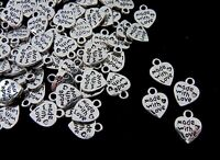 15 x 13mm Tibetan Silver Baby Dummy Charms Beads Jewellery Beading Pendant L22