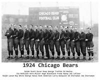 NFL 1924 Chicago Bears Team Photo George Halas Wrigley Field 8 X 10 Photo Pic
