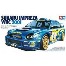 TAMIYA 1:24 KIT AUTO DA MONTARE E COLORARE SUBARU IMPREZA WRC 2001  ART 24240