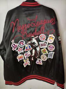 BIGBOY Headgear Negro League Baseball Museum Jacket Sz 2XL EMBROIDERED PATCHES