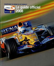 Renault Championnat du Monde Formule 1 Le guide officiel Prospekt F ING 2008