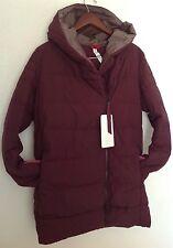 LULULEMON Puffy Blanket Jacket Down Bordeaux Drama Puffy Coat Sz 12 NWT WARM!