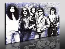 Fotoleinwand24  Deep Purple Leinwandbild Wandbild Keilrahmenbild  Deko Poster