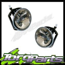 PAIR FOG LIGHTS SUIT BA FALCON FORD XR6 XR8 02-05 LAMPS SPOT DRIVING FOGLAMPS