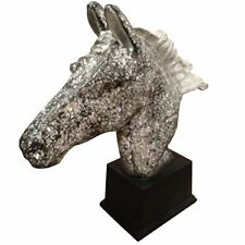 """Lavalier Horse Head Statue- Stunning 38.5"""" Tall! NIB and ships free from store!"""
