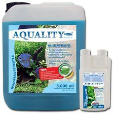 (4,00€/l) AQUALITY Aquarium Wasseraufbereiter 5 L Pflege AloeVera & Vitamin B