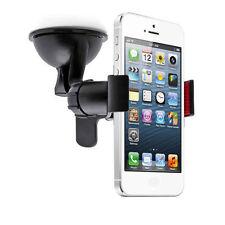 Supporto auto macchina ventosa parabrezza vetro compatibile con iPhone 4 / 4S