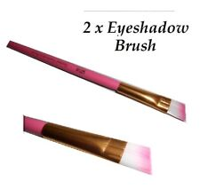 2 x Slanted Eyeshadow Brush Professional -Tapered Perfect for Shading The Eye