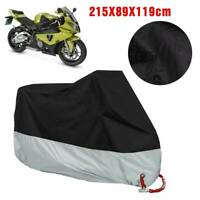 Waterproof Motorcycle Motorbike Scooter Storage Cover Breathable KM1BS