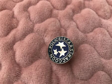 Resident Evil Biohazard 17th Anniversary STARS S.T.A.R.S.Blue Cosplay Badge