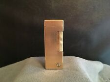 DUNHILL ROLLAGAS - GOLD PLATED - POCKET LIGHTER - 1970 -  SWISS MADE - TOP !