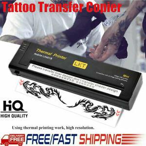 Tattoo Transfer Flash Copier Printer Machine Thermal Stencil Paper Maker A5 A4
