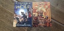 2018 SDCC COMIC CON EMPIRE OF THE WOLF GRAPHIC NOVEL PROMO CARD SET OF 2
