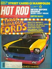 1977 Hot Rod Magazine: Those Fabulous Fords/IMSA-Style Mustang II/Shelby Cobra