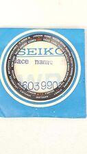 SEIKO NAVIGATOR TIMER 6117 6400 6409 6410 DIAL RING 6117-6400 WORLD TIME BLACK