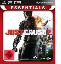 PS3 / Sony Playstation 3 Spiel - Just Cause 2 (Essentials) (mit OVP) (USK18)