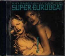 SUPER EUROBEAT VOL.61 - Japan CD DANNY KEITH MARGARET NORMA SHEFFIELD GINO CARIA