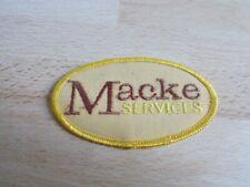 Ecusson, patch MACKE SERVICES