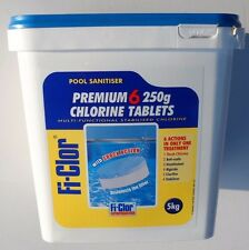 FI-CLOR PREMIUM 6 250 G CHLORINE TABLETS COLLECTION ONLY