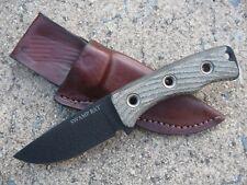 Swamp Rat Knife Works Rodent 3 R3 Knife Custom Molded Leather Sheath BROWN