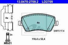 Bremsbelagsatz Scheibenbremse ATE Ceramic - ATE 13.0470-2709.2