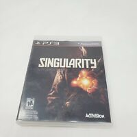 Singularity (Sony PlayStation 3, 2010) PS3 Complete CIB Tested Working Genuine