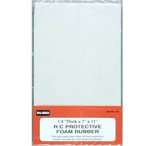 """NEW DuBro For Airplanes Foam Rubber 1 / 4"""" 513"""