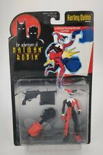 Harley Quinn Adventures Batman and Robin Action figure Kenner 1997 MOC