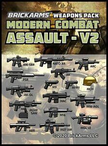 BrickArms Modern Combat Assault V2 Weapons Pack