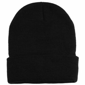 Mens Beanie Winter Woolly Slouch Ski Hat Knitted Warm Unisex One size Boys