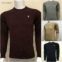 LYLE & SCOTT LONG SLEEVE CREW NECK JUMPER FOR MEN CLEARANCE SALE