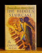 VINTAGE NANCY DREW - The Hidden Staircase - w/ DJ -  Very Early Printing