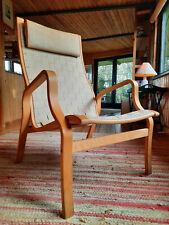 Sessel Clubsessel Vintage 60er Easy Chair Danish Westnofa Mathsson Ära Geflecht