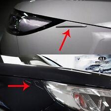 BRENTHON Car Eye line Detail Tip x2 Black White Chrome for KIA SORENTO 2009-2014