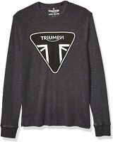 Triumph Lucky Brand Men's Black Long Sleeve T-Shirt $50 NEW  L XXL