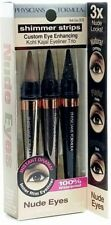 Physicians Formula Shimmer Strips Eyeliner Trio Waterproof 7876 NUDE EYES New