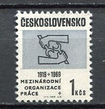 32929) CZECHOSLOVAKIA 1969 MNH** ILO - OIL 1v Scott# 1603
