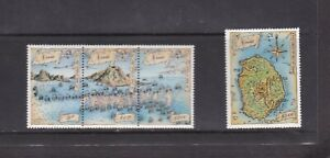 NEVIS 1989 PHILEXFRANCE BATTLE OF FRIGATE BAY MNH SET OF STAMPS