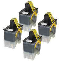 4PK LC41BK for Brother LC41 BLACK Ink Cartridge MFC-210C MFC-420 5460CN DCP-130C